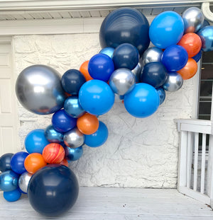 Out of This World Space Balloon Garland Kit
