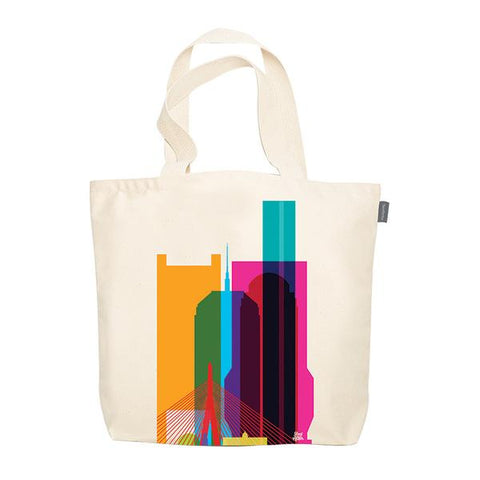 Boston CityScape Tote Bag
