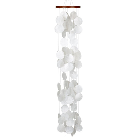 Capiz Waterfall Windchime