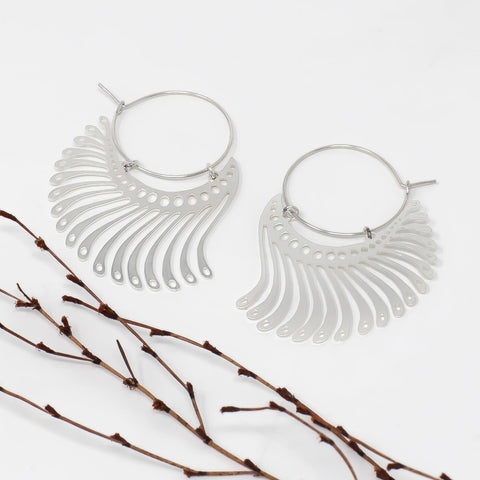 Jahl Hoop Earrings