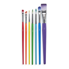 Lil' Paint Brush Set of 7