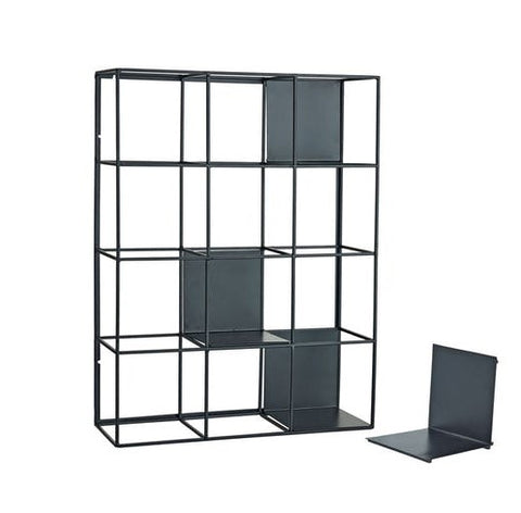 Modern Wall Grid Shelf