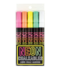 Neon Chalkables set of 5