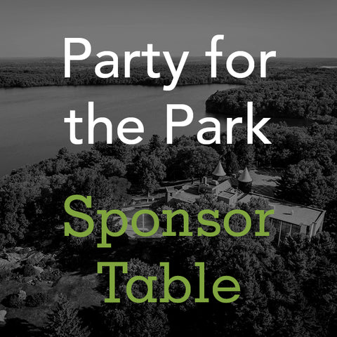 Party for the Park: Sponsor Table