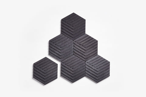 Table Tiles - Concrete