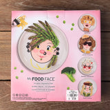 Ms Food Face Plate