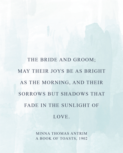 Dote Quote Wedding - Book of Toasts