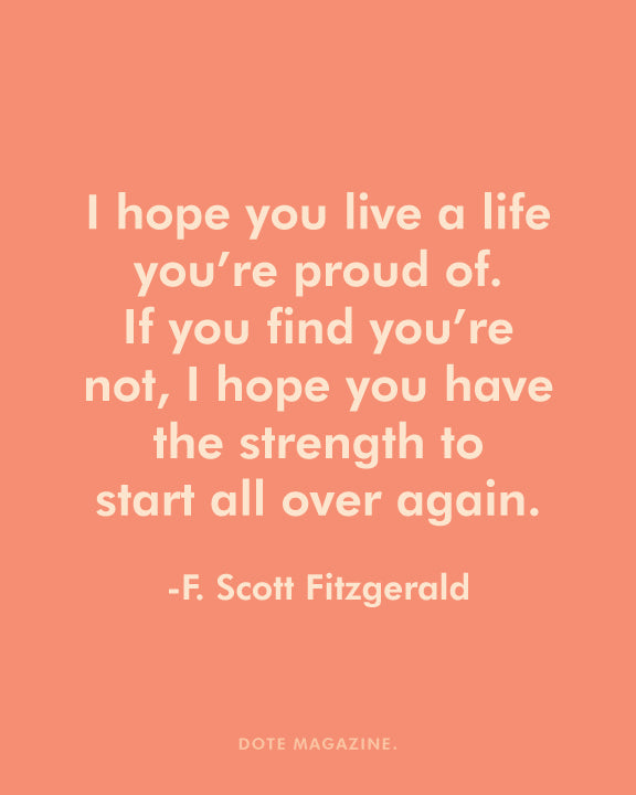 Dote Quote: F.Scott Fitzgerald