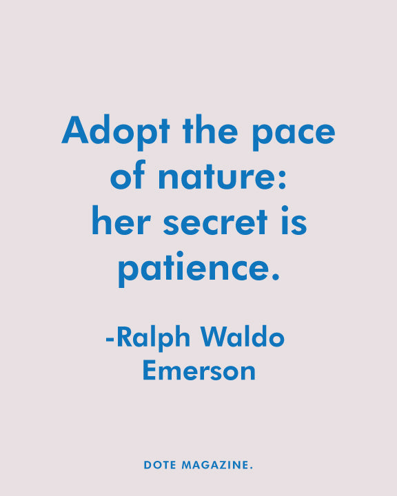 Dote Quote - Ralph Waldo Emerson