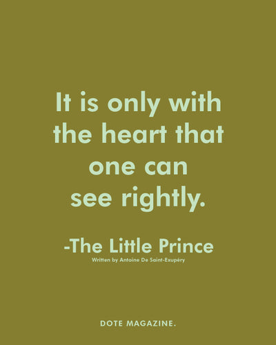Dote Quote: Little Prince