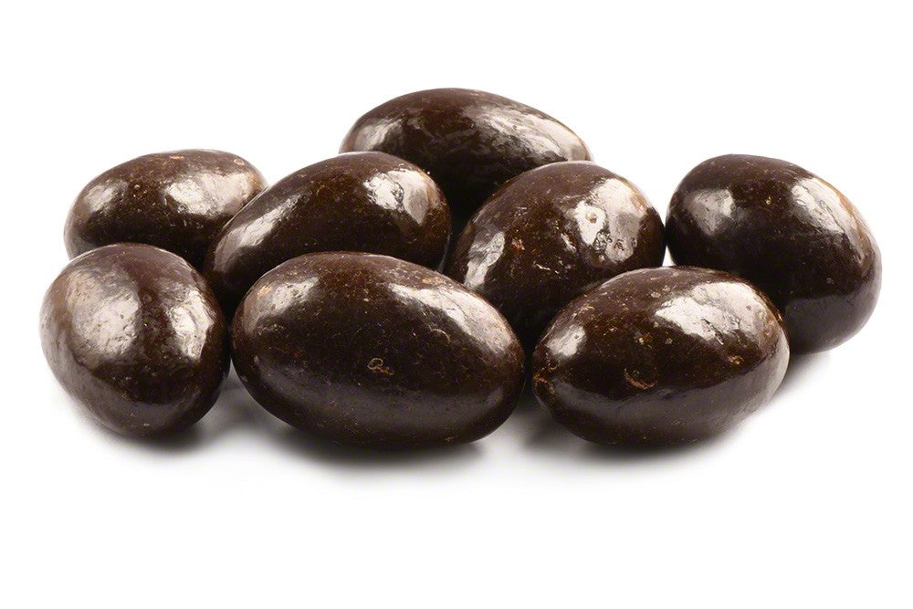 Dark Chocolate covered Almonds - 1lb Bag