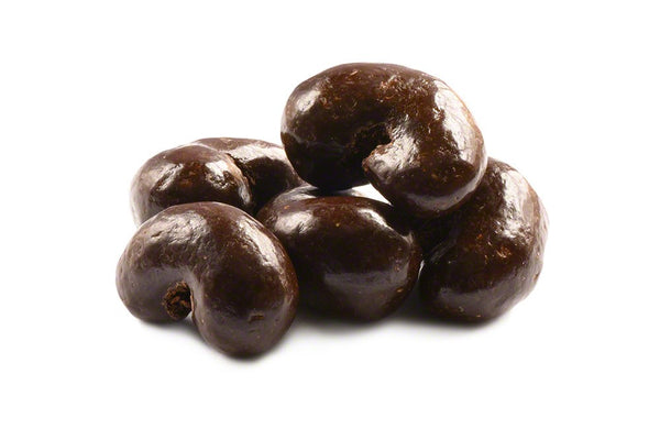 Dark Chocolate Covered Cashews - 1lb Bag