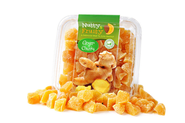 Ginger Chunks - No Sugar (soft)