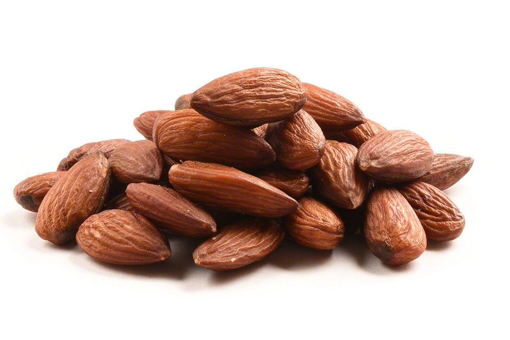 Roasted Unsalted Almonds - 1lb Bag