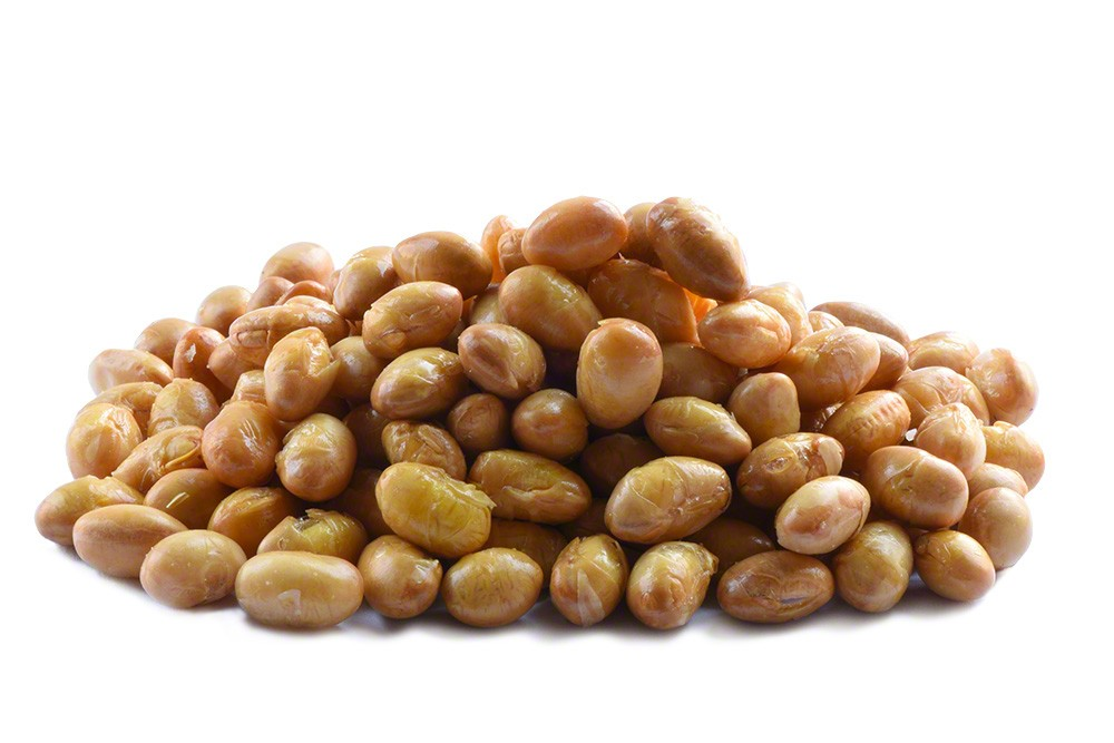Roasted Soybeans Salted - 1lb Bag