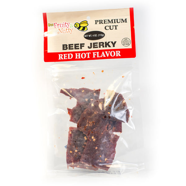 Red Hot Beef Jerky
