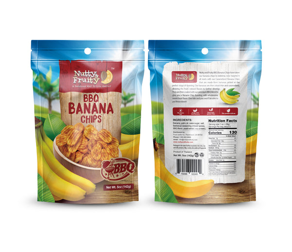 Banana Chips (BBQ Flavored)