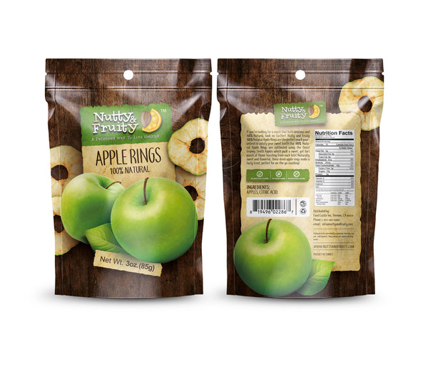 Green Apple Rings 100% Natural  - 100% Natural