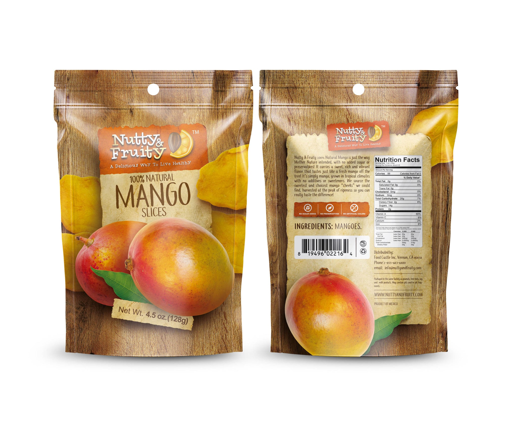 Dried Mango Slices 100% Natural