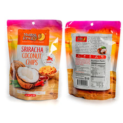 Sriracha Coconut Chips - Spicy Hot