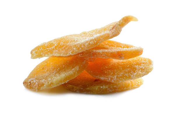 Low Sugar Crystallized Ginger, No Sulfur