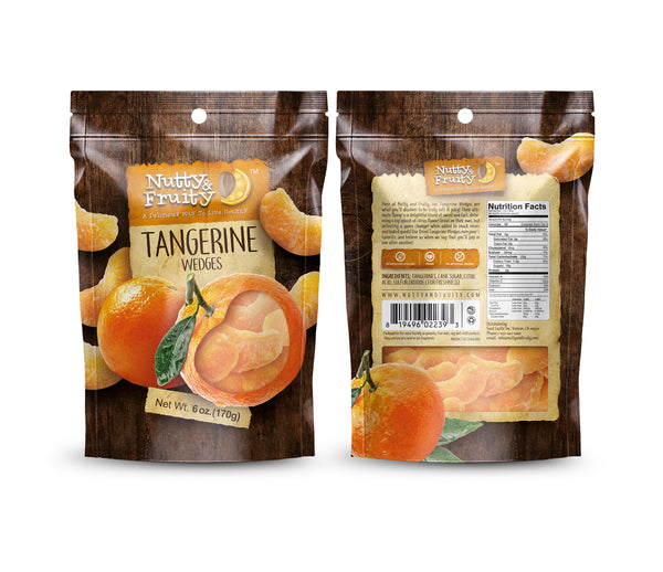 Dried Tangerine Wedges