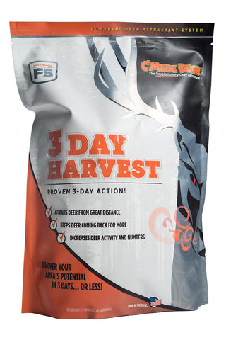 3-Day Harvest Deer Attractant by C'Mere Deer