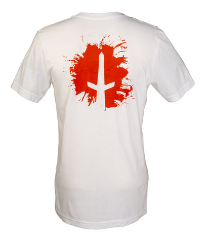 Mens Short Sleeve T: SPLATTER