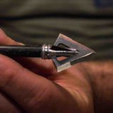 RAZOR254 - 4-blade fixed blade broadhead