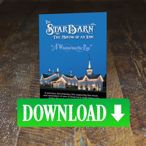 The Star Barn Documentary - Digital Download
