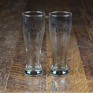 Star Barn Pilsner Glass Set