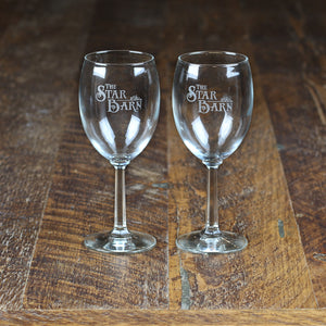 Star Barn Wine Goblet Set
