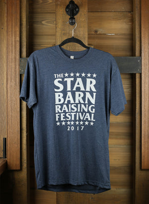 2017 Star Barn Raising Festival T-Shirt