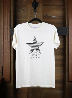 Star Barn T-Shirt with Louvered Star Logo