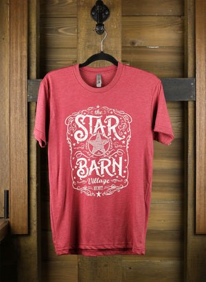 "Star Barn T-Shirt with a ""Country"" Logo"