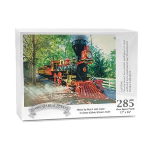 "Pre-Order Item - ""Full Steam Ahead"" Train Puzzle - Photograph by Mark Van Scyoc"