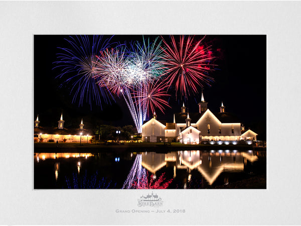 Limited Edition Star Barn Grand Opening Commemorative Picture