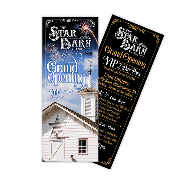 VIP Event Ticket - The Star Barn Grand Opening