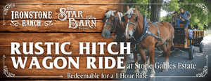 Rustic Hitch Wagon Ride at Stone Gables Estate - Gift Certificate