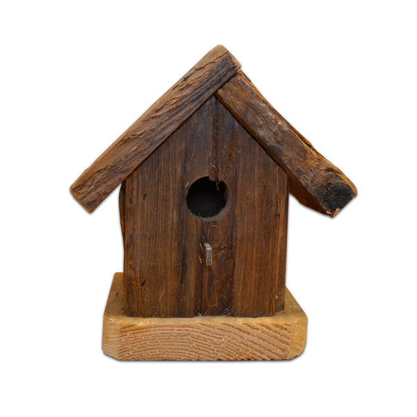 Handmade Birdhouse - One Hole