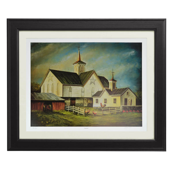"Limited edition offset lithographs of ""Star Barn"" by Wayne Fettro"