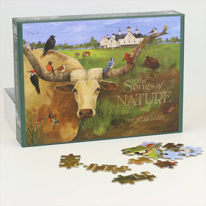 """The Songs of Nature"" Puzzle - Painting by Terri Palmer"