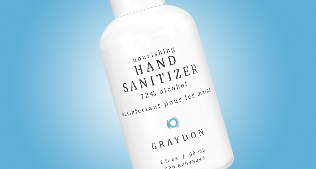 Introducing Nourishing Hand Sanitizer