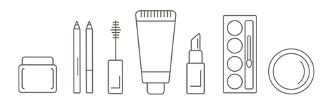 Pact Beauty Packaging Illustration