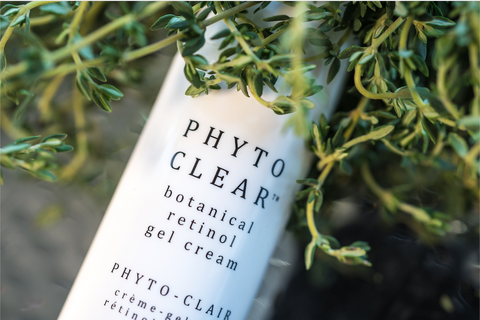Phyto Clear bottle with greens