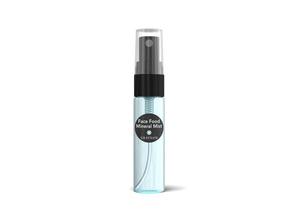 face food mineral mist sample