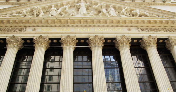 Free 4K Stock Video: New York Stock Exchange Entrance