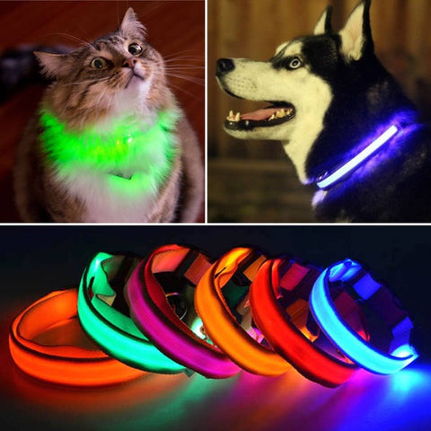 8 Color LED Dog Pet Cat Flashing Light - All-unique-things