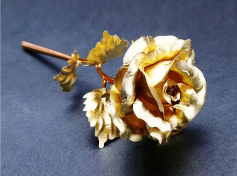 24k Gold Foil Rose - With Box - All-unique-things