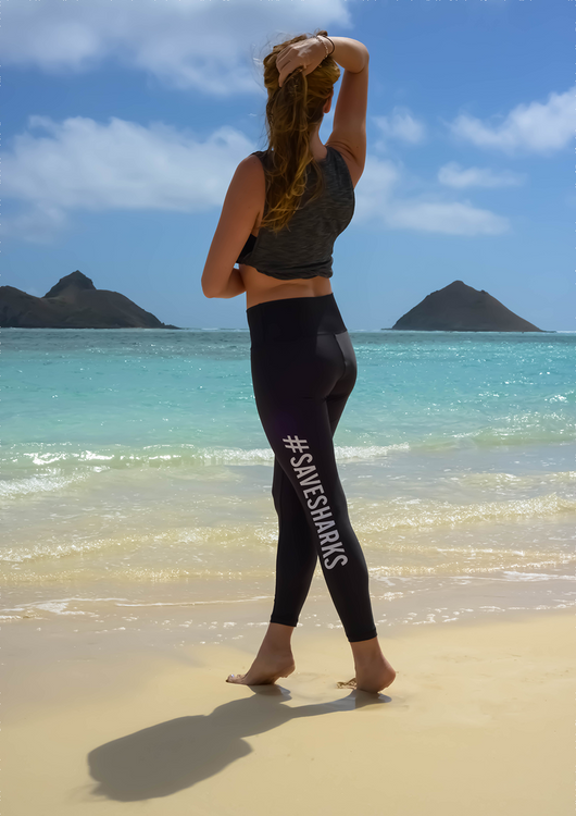 SAVE // SHARKS Yoga Pants
